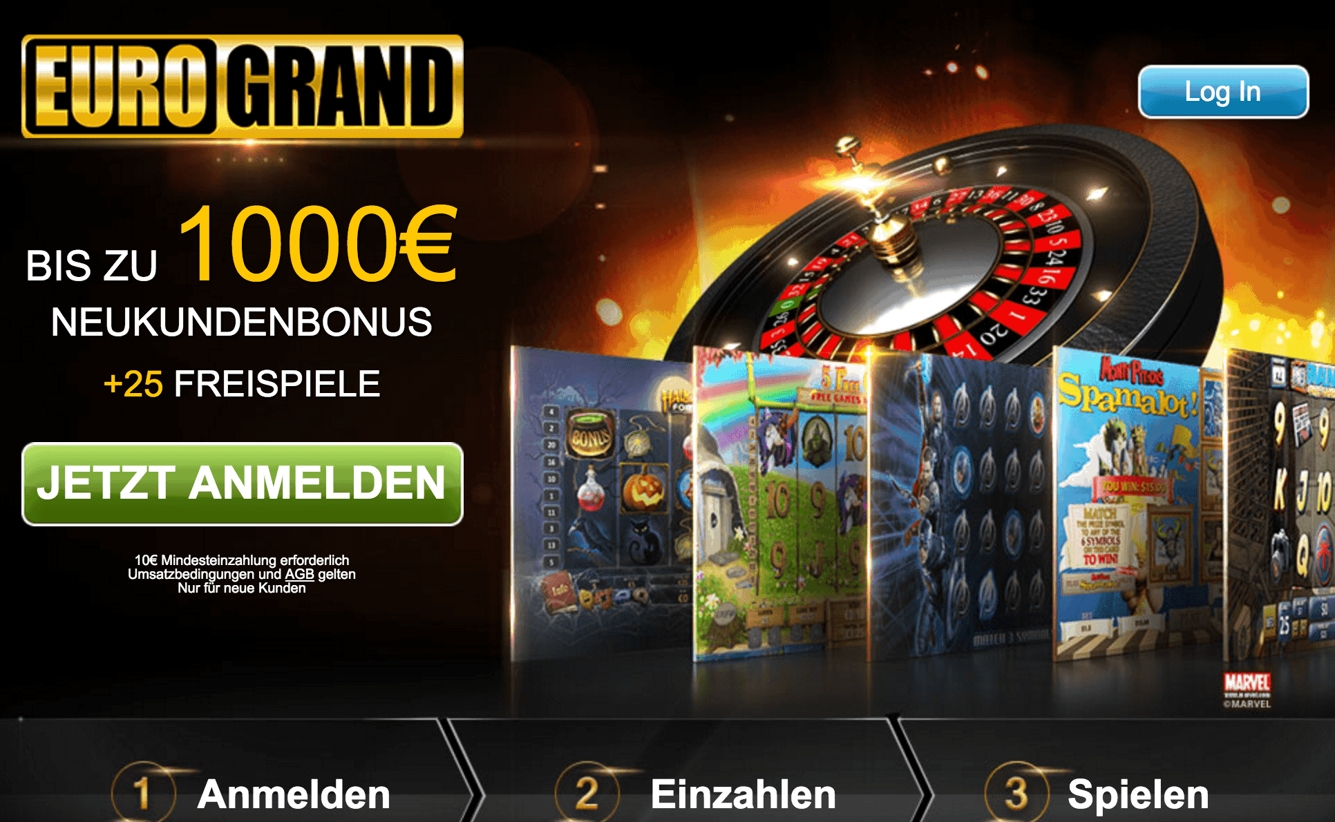 Eurogrand Casino im Casinotest