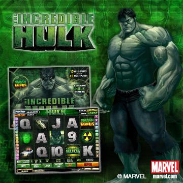 The Incredible Hulk Videoslot im 888.com
