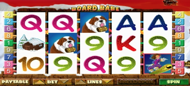 Board Babe Videoslot im Party Casino