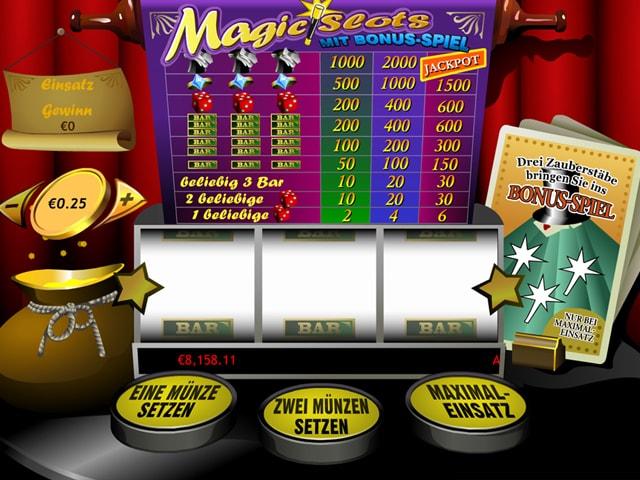 Magic Slots im Eurogrand Casino
