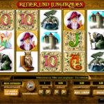Ritter und Jungfrauen Spielautomat