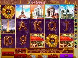 cafe de paris spielautomat im 888.com casino