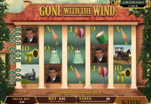 Gone with the Wind Slotmachine