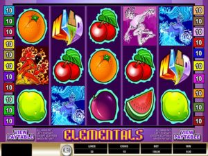 elementals spielautomat