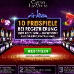 60 Freispiele gratis im CasinoLasVegas