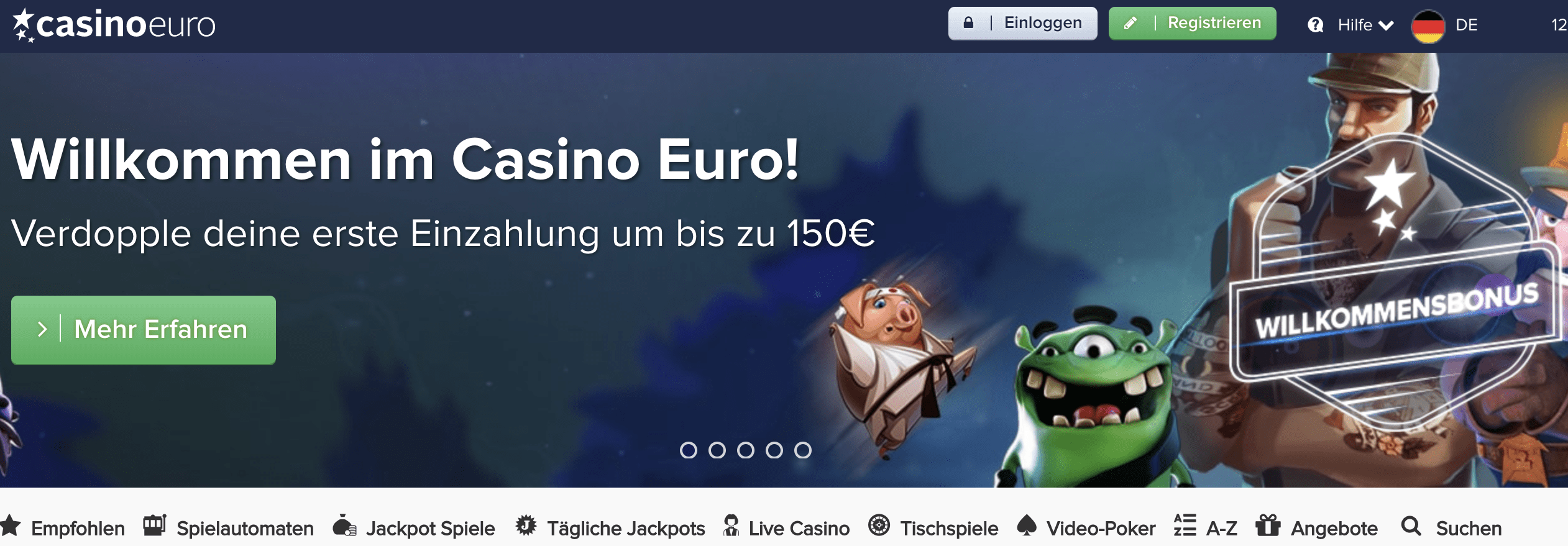casinoeuro test