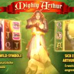 Neu im Betsson Casino: Mighty Arthur von Quickspin