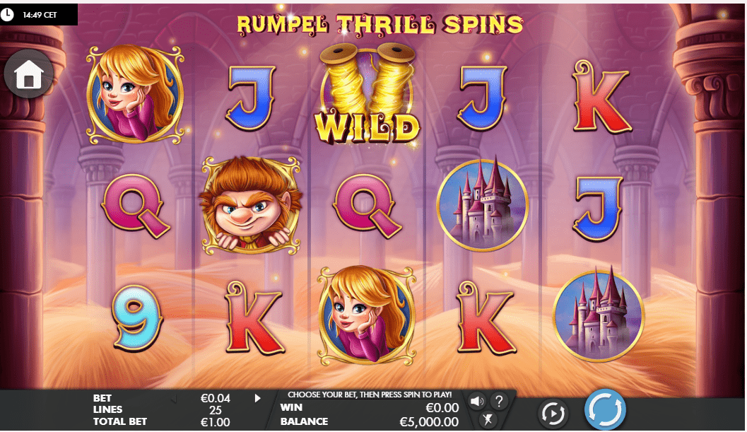 rumpel thrill spins slot