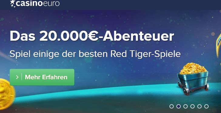 Preise im Wert von 20.000 Euro im CasinoEuro