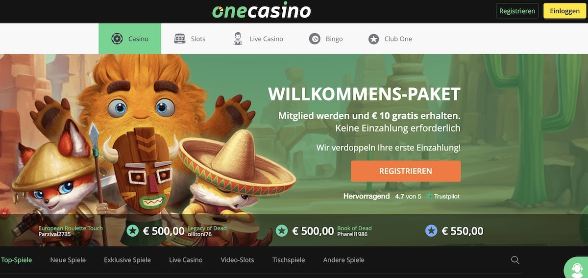 onecasinowebsite