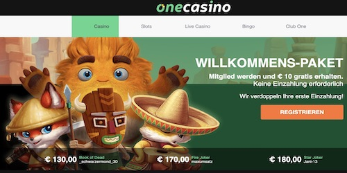 onecasino website