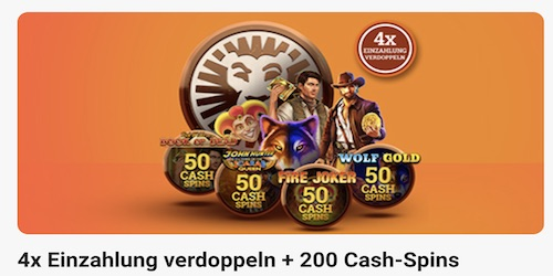 leovegas 200 cashspins