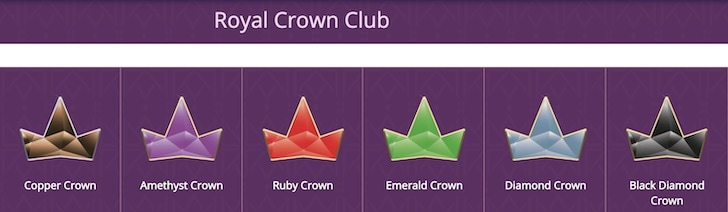 lord lucky crown club